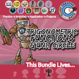 Trigonometric Functions & Unit Circle -- Pre-Calc Curriculum - Essential Bundle