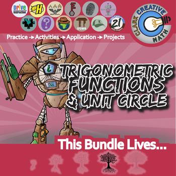Trigonometric Functions Unit Circle Pre Calc Curriculum Essential Bundle