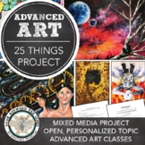 Advanced or AP Art Lesson: Creating a Mixed Media Work of Art