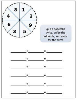 Spin and Add!