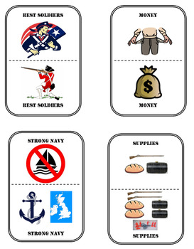 Advantages/Disadvantages during the American Revolution
