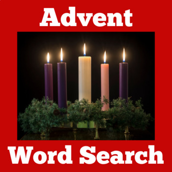 Advent Activity | Advert Word Search | Christmas Advent