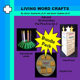 Advent 3D Activities bundle for Pre-K to Gr. 3