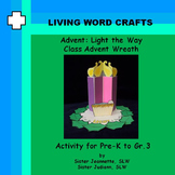 Advent 3D Light the Way Class Advent Wreath For PreK to Gr.3
