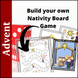 Advent Activities: Build Your Own Nativity Board Game
