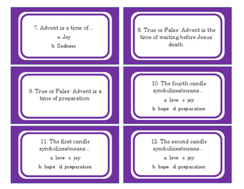 Advent Activities and Games