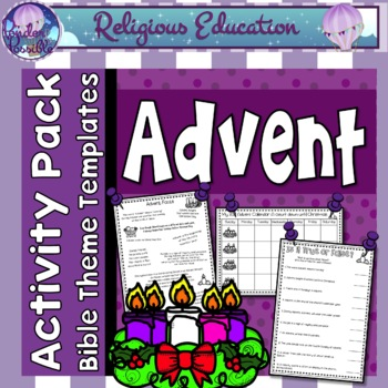 Advent Activities, Puzzles & Games  (Preparing for Christmas & Birth of Jesus)