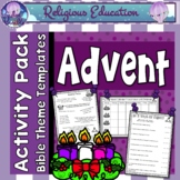 Advent Activities & Puzzles & Games {Preparing for Christmas & Birth of Jesus}