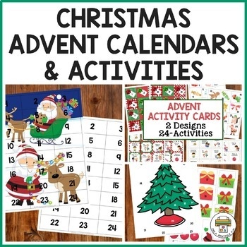 Advent Activity Cards for Preschool, Pre-K