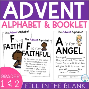 Advent Alphabet & Booklet- Primary Grades Edition