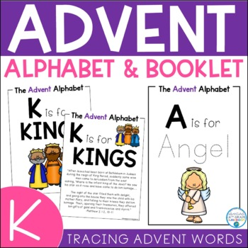 Advent Alphabet & Booklet- Early Childhood Edition