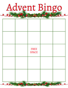 Advent BINGO