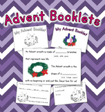 Advent Booklet - fill-in-the-blank and more!