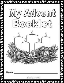 Advent Booklet - Complete Advent Unit (53 pages)