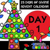 Advent Calendar 2018 - DAY 1 {Scrappin Doodles Clipart}