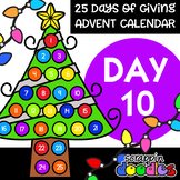 Advent Calendar 2018 - DAY 10 {Scrappin Doodles Clipart}