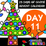 Advent Calendar 2018 - DAY 11 {Scrappin Doodles Clipart}