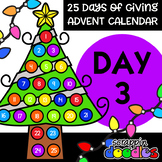 Advent Calendar 2018 - DAY 3 {Scrappin Doodles Clipart}