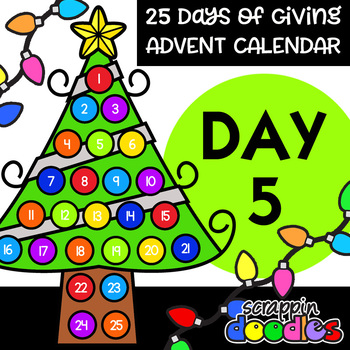 Advent Calendar 2018 - DAY 5 {Scrappin Doodles Clipart}