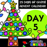 Advent Calendar 2018 - DAY 5 {Scrappin Doodles Clipart}