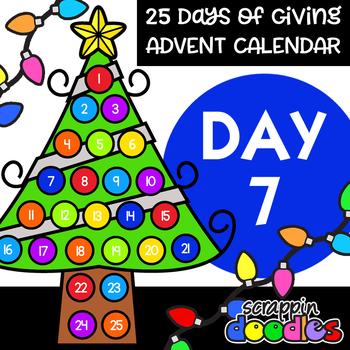 Advent Calendar 2018 - DAY 7 {Scrappin Doodles Clipart}