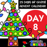 Advent Calendar 2018 - DAY 8 {Scrappin Doodles Clipart}