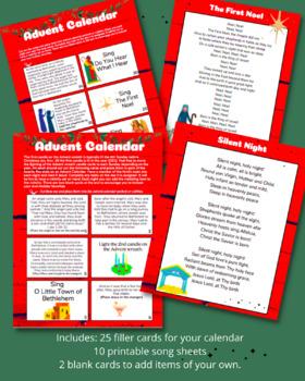 Advent Calendar Activities