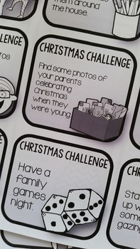 Advent Calendar Activities {68 mini task cards)
