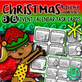 Advent Calendar Activities {68 mini task cards)