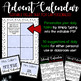 Advent Calendar - Classroom Community {Editable}