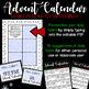 Advent Calendar - Classroom Community {Editable}