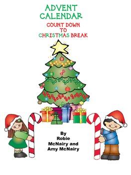 Advent Calendar Count Down to Christmas Break