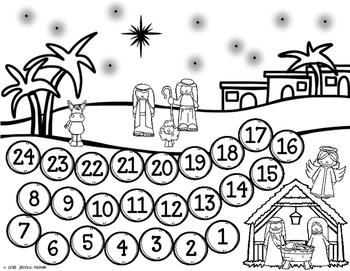 Advent Calendar FREEBIE
