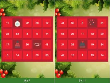 Advent Calendar Multiplication Game