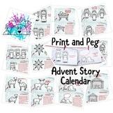 Advent Calendar Postcards