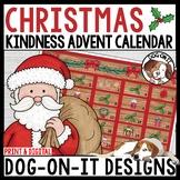 Christmas Kindness Advent Calendar Digital Print Distance Learning