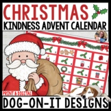 Christmas Kindness Advent Calendar Digital and Print Distance Learning