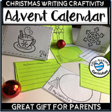 Advent Calendar Printable Christmas Writing Activites and Craft