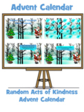 Advent Calendar: Random Acts of Kindness