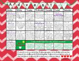 Advent Calendar - Ready To Use With An Idea A Day - 2017