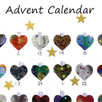 Advent Calendar: a craft that integrates art and writing