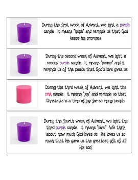Advent Candle Activity