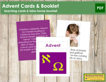 Advent Cards and Booklet