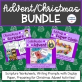 Advent Christmas Bundle for the Christian/Catholic Classroom