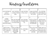 Advent/Christmas Kindness Countdown