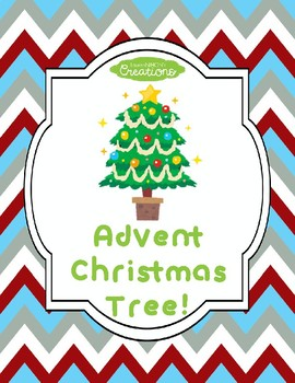 Advent Christmas Tree Craft!
