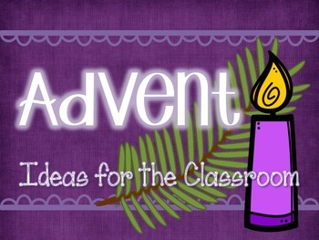 Advent Classroom Ideas Freebie