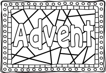 Advent - Coloring Pages by Ponder and Possible | TpT
