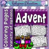 Advent: Coloring Pages