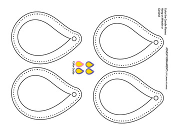 Advent Coloring Pages_Ornaments and Words